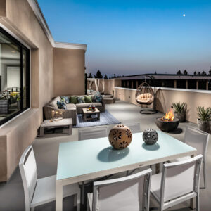 Living in Pasadena Terraces Penthouse Rooftop Terrace